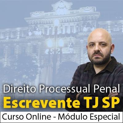 Escrevente TJ SP Direito Processual Penal Módulo Especial Com Rodrigo Castello - Curso Online