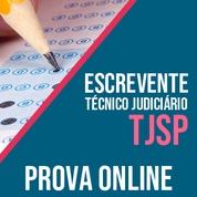 TJ SP Concurso 2021 Vunesp | Simulado Online