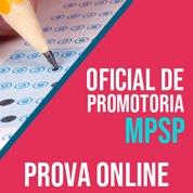 MP SP Concurso 2020 Vunesp   Simulado Online