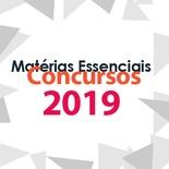 Matérias Essenciais Para Concursos 2019