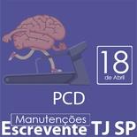 TJ SP Escrevente - Manutenção VUNESP Direito da Pessoa com Deficiência