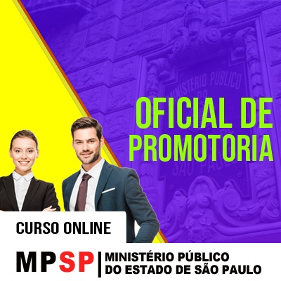 MPSP Oficial de Promotoria Concurso 2021 Vunesp   Curso Online