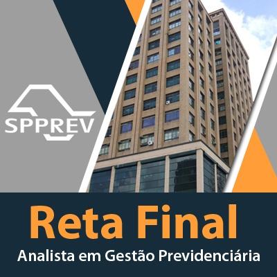 Concurso SPPrev 2019 Analista em Gestão Previdenciária - FCC   Reta Final