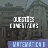 Questões Comentadas para TJSP e MPSP Concurso Vunesp 2021   Matemática II