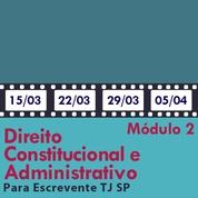 Direitos Constitucional e Administrativo Artigo por Artigo para Escrevente TJ SP - Módulo 2