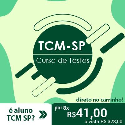 TCM SP Concurso 2020 | Curso de Questões