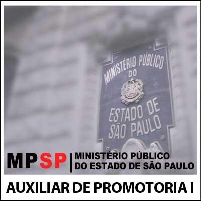 Auxiliar de Promotoria I AA MP SP 2018 - Legislação