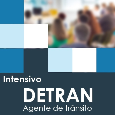 Curso Intensivo Detran SP 2019 Agente de Trânsito - Presencial