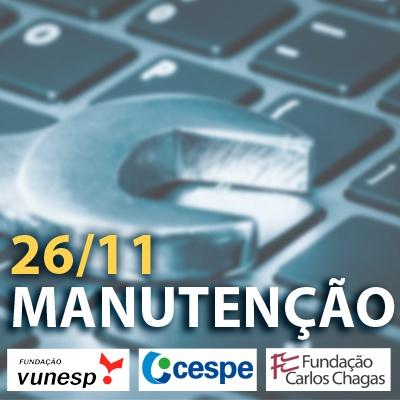 Manutenção Direito Constitucional - Questões VUNESP, FCC e Cespe - 26/11