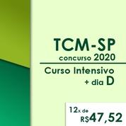 TCM SP Concurso 2020   Curso Intensivo Online