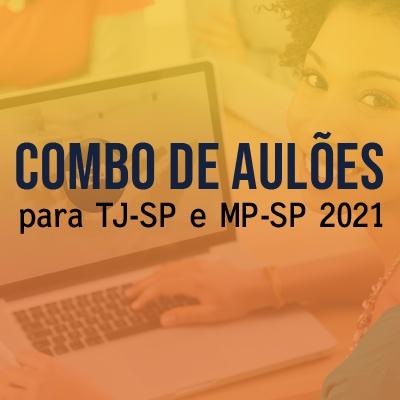 Aulões para Concurso TJSP e MPSP Vunesp 2021