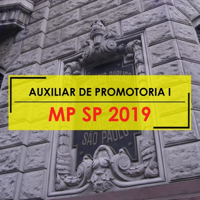 Curso MP SP Auxiliar de Promotoria 2019