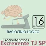 TJ SP Escrevente - Manutenção VUNESP Raciocínio Lógico