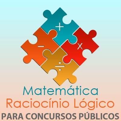 Combo Matemática e Raciocínio Lógico Para Concursos