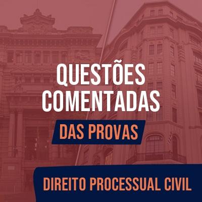 Questões Comentadas para TJSP e MPSP Concurso Vunesp 2021 | Direito Processual Civil - Das Provas