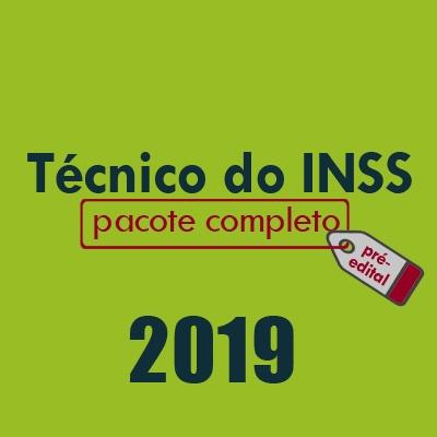 Técnico do INSS 2019