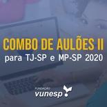 Aulões para Concurso TJSP e MPSP Vunesp 2020 II