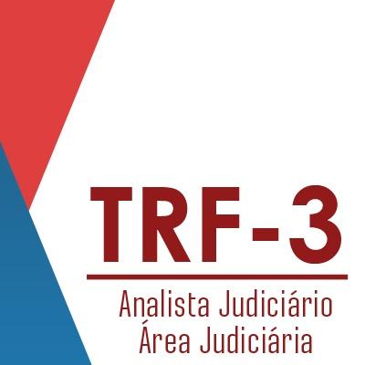 Curso TRF3 Analista Judiciário Área Judiciária