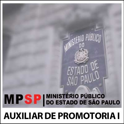 Auxiliar de Promotoria I AA MP SP