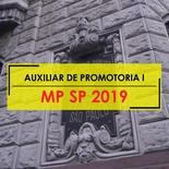 Curso MP SP Auxiliar de Promotoria 2019