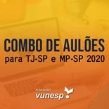 Aulões para Concurso TJSP e MPSP Vunesp 2020