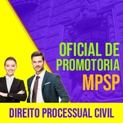 MPSP Oficial de Promotoria Concurso 2021 Vunesp | Direito Processual Civil
