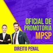 MPSP Oficial de Promotoria Concurso 2021 Vunesp | Direito Penal